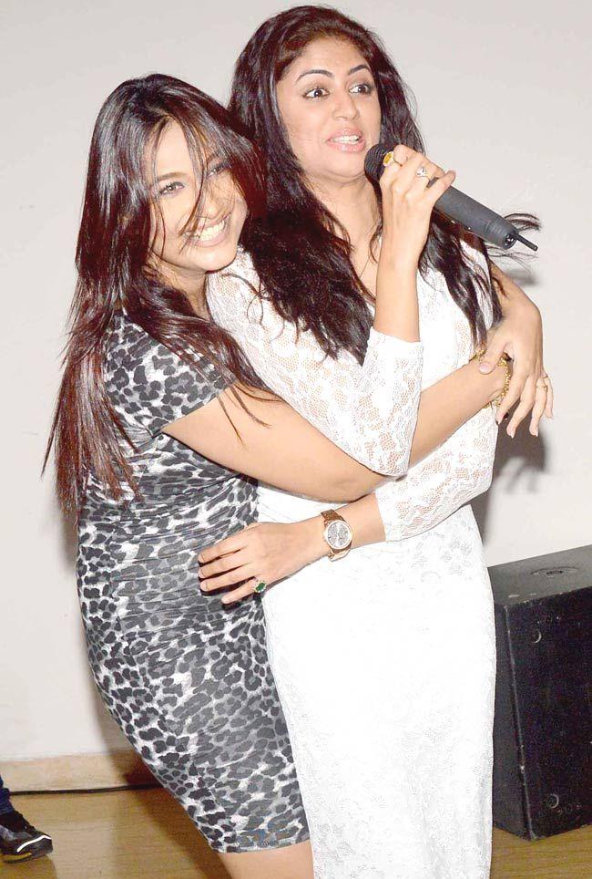 Melissa Pais and Kavita Kaushik in a jolly mood at the former's birthday bash. #Bollywood #Fashion #Style #Beauty