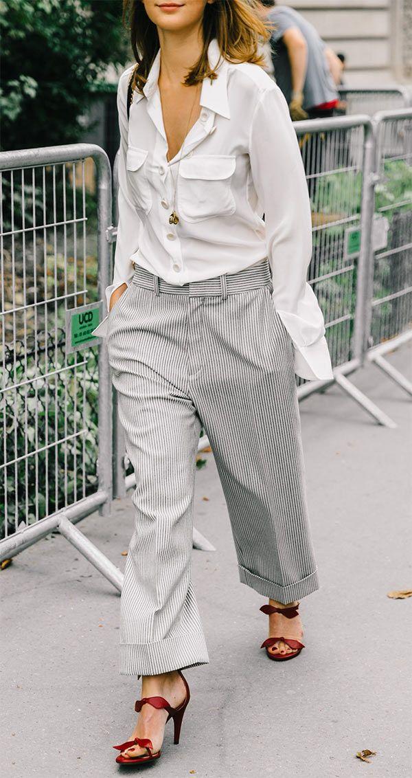 Estilo no look social   Idéias de moda, Roupas da moda