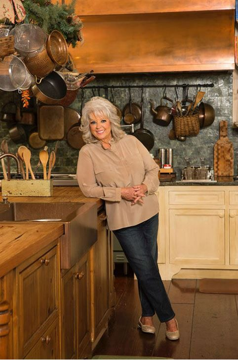 Paula Deen In Her Kitchen In Savannah. Home Is For Sale! This Copper Range
