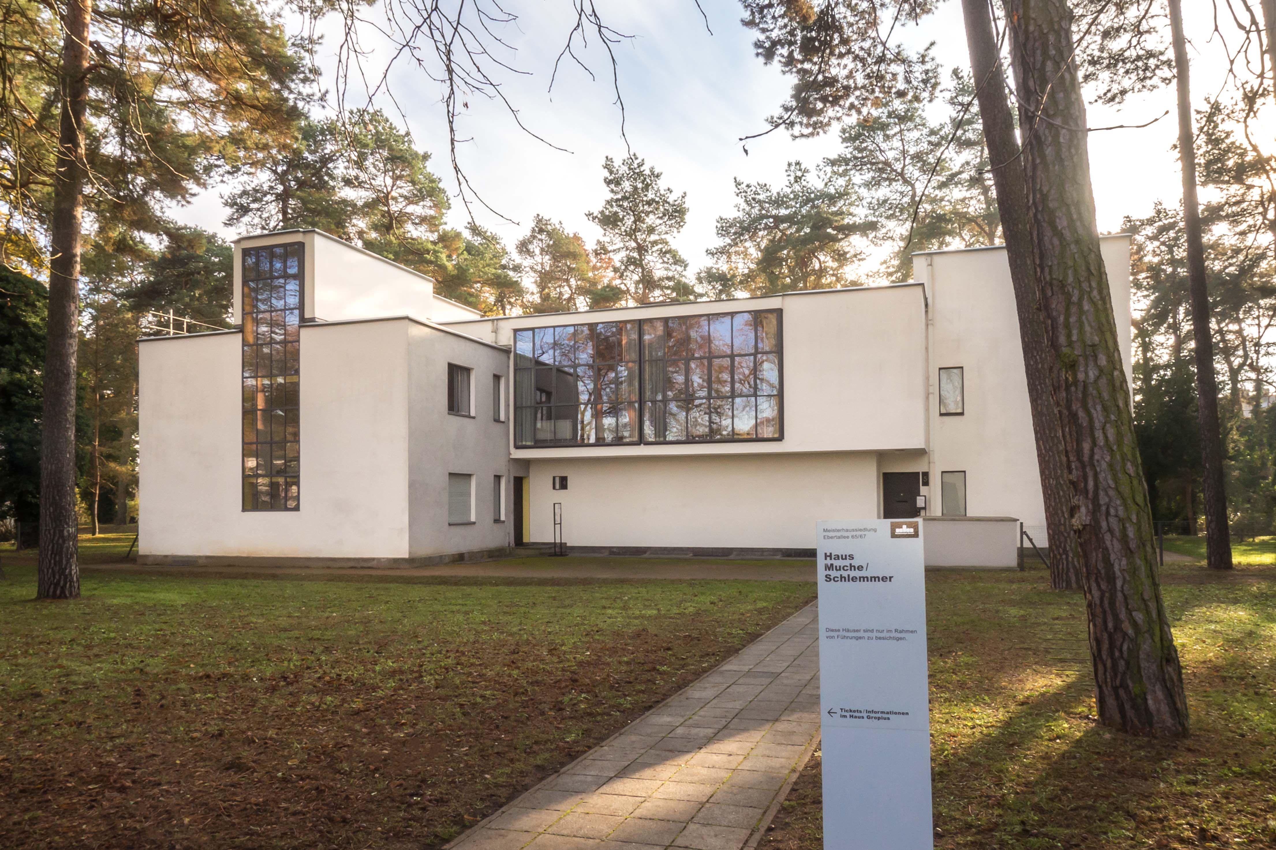 Meisterhäuser In Dessau Bauhaus Architektur Klassiker Der