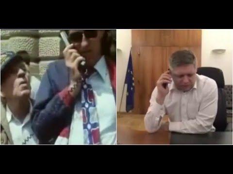 Paródie telefonátu Róberta Fica generálnemu riaditeľovi Všeobecnej zdravotnej poisťovne si podmanili Slovensko - Spišiakoviny.eu
