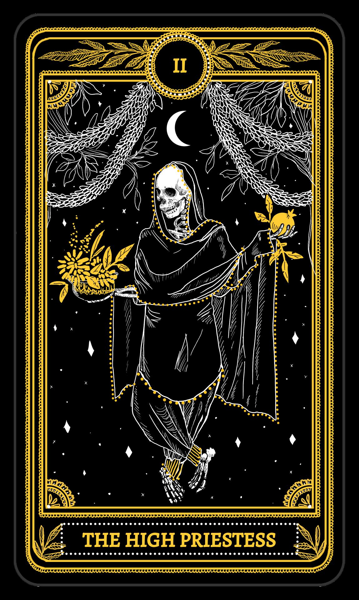 The Marigold Tarot Major Arcana: The