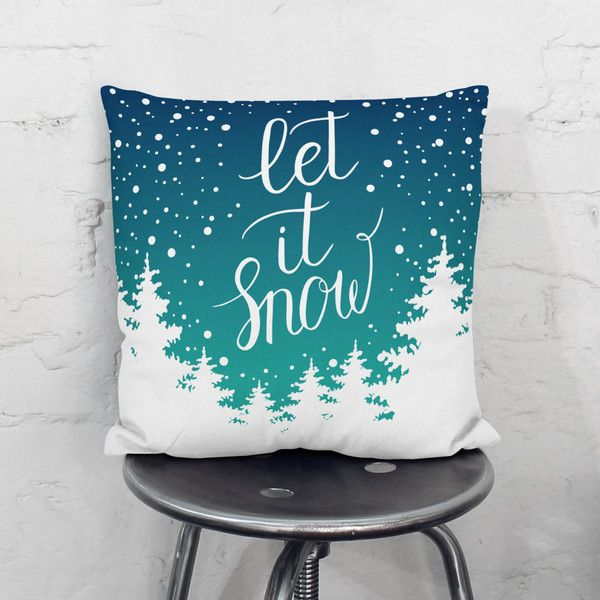 Winter Decorations Winter Pillow Winter Decor Christmas Pillow Cover... (450 ARS) ❤ liked on Polyvore featuring home, home decor, throw pillows, decorative pillows, grey, home & living, home décor, grey accent pillows, gray accent pillows and inspirational throw pillows