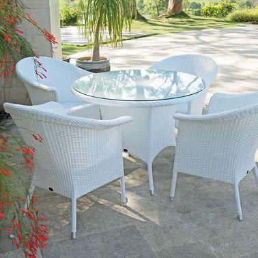 Superschöne Gartenmöbel: Wetterfeste Korbsessel aus Polyrattan ...
