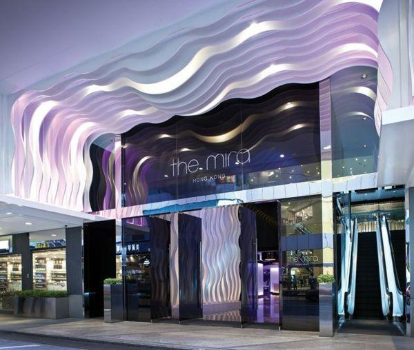 Luxus Hotel Im Herzen Von Hong Kong Design Hotel Luxus Wandgestaltung