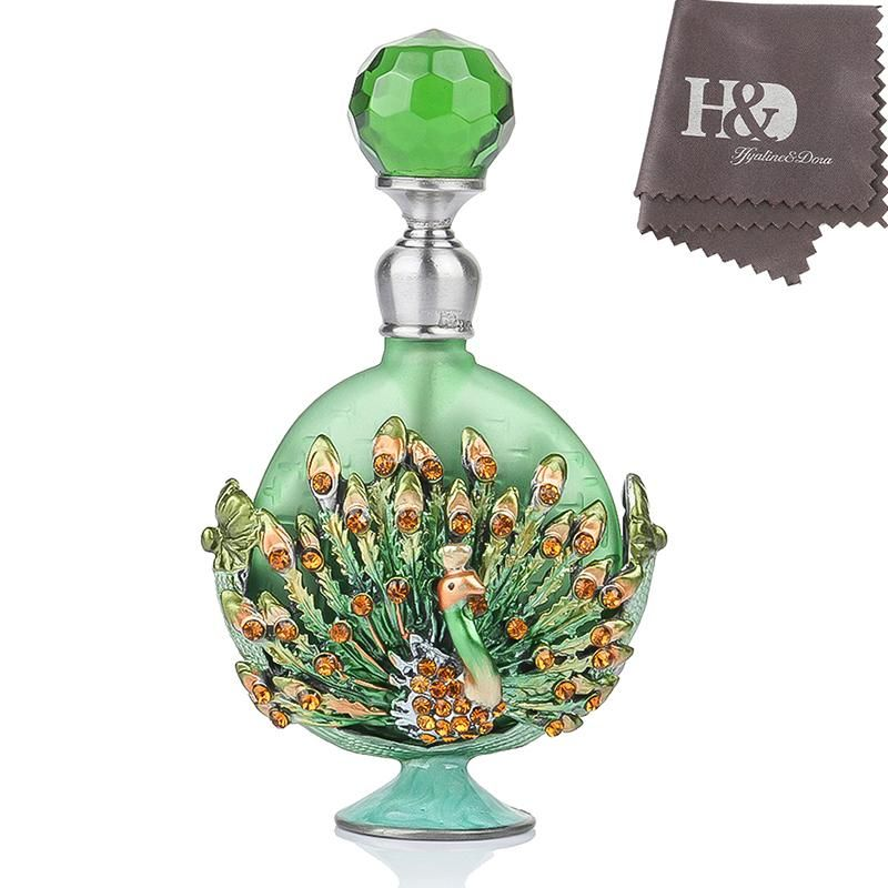 Vintage Glass Perfume Bottle Made in
