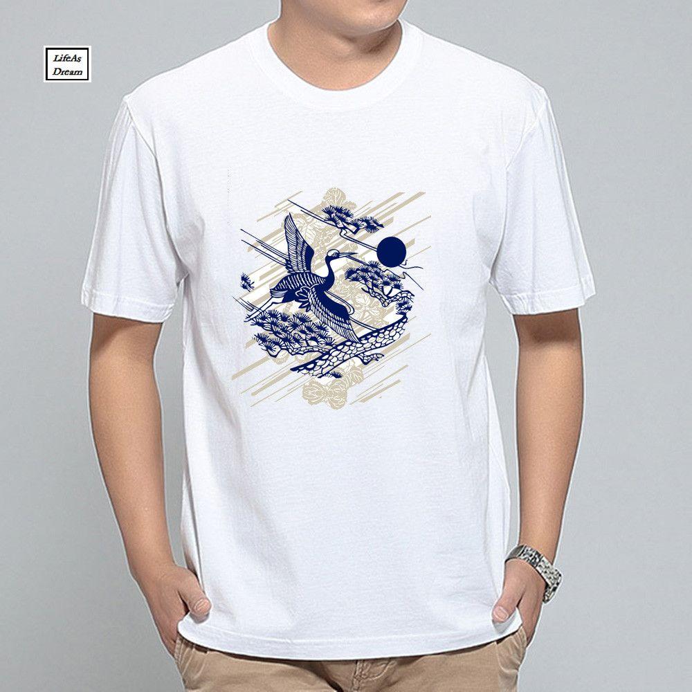 24 Style t shirt men printed owl men tshirt Casual Big Size white short sleeve tee shirt homme brand clothing t-shirt men