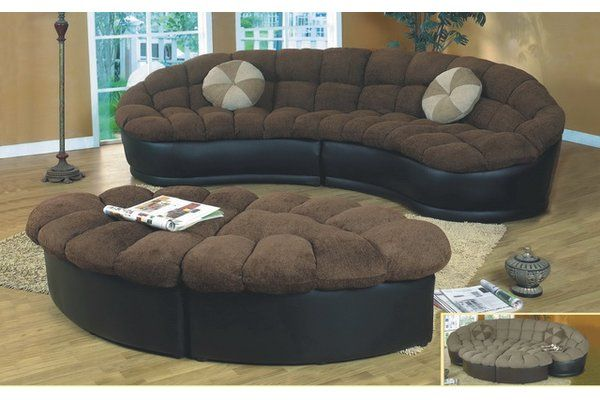Maynard Symmetrical Sectional With Ottoman Sectional Sofa