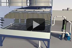 Video Cooling Tower Basin Cleaning With Lakos Hvac Industrial