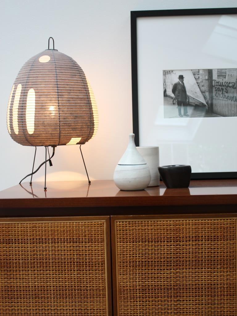 Noguchi Lampe Papier In Situ Interiors With Mid Century