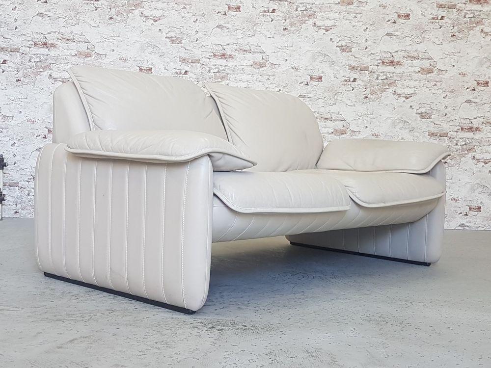 De Sede 2er Leder Sofa Couch Designklassiker Zweisitzer Two Seater Vintage Sofa Couch Sessel Designklassiker Und Sofa