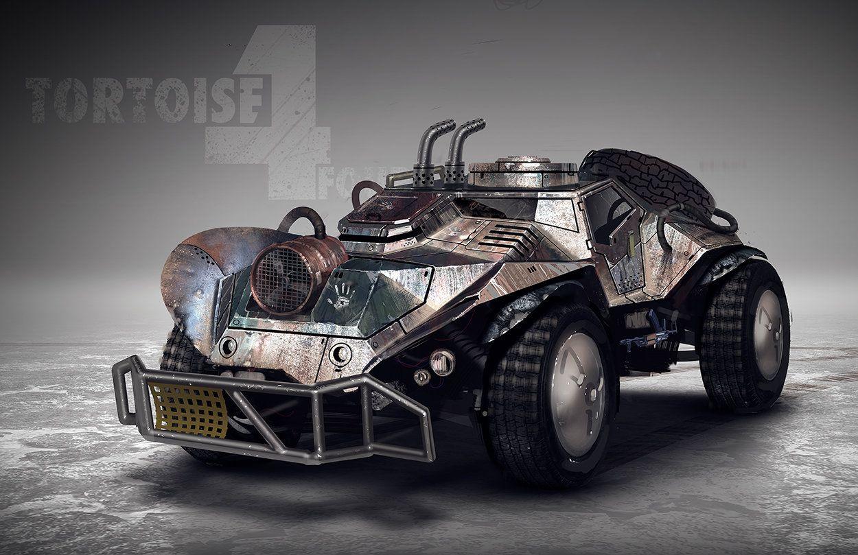 Tortoise4 Matt Tkocz Dzhip Vrangler Anlimited Avtomobili Apokalipsis