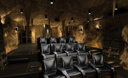 The Bat Cave Buahaha Movie Theater Rooms Cinema Room Home