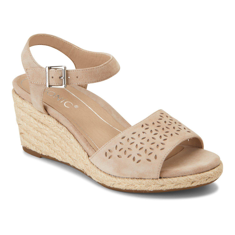 afe6f7d5b01 Vionic Ariel Women's Wedge Supportive Sandal - Free Shipping & Returns