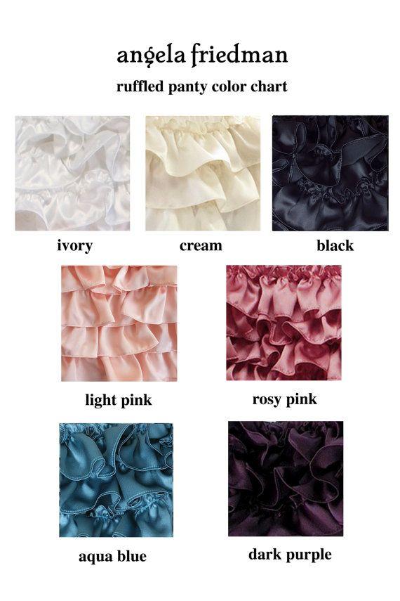 09fa4d8a4d5 Silk ruffled panties - the original silk ruffled knickers! silk ...