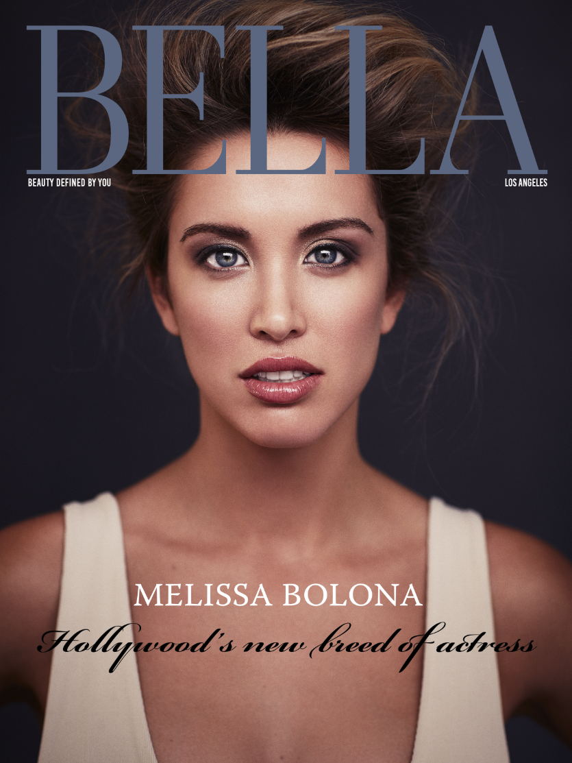 57c75096a38620 At first glance audiences are immediately drawn to actress Melissa Bolona's  beautiful looks, but there's so much more to this up and coming talent.