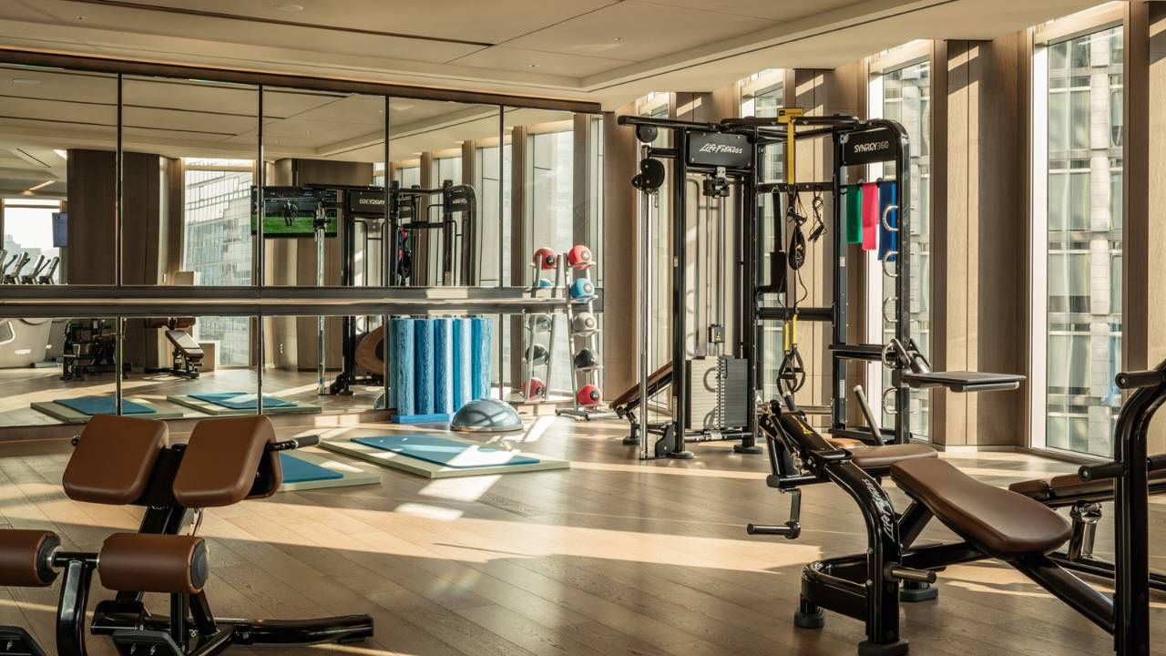 Seoul Hotel Gym Fitness Facilities Four Seasons Hotel Seoul Hotel Gym Gym Workout Training Programs