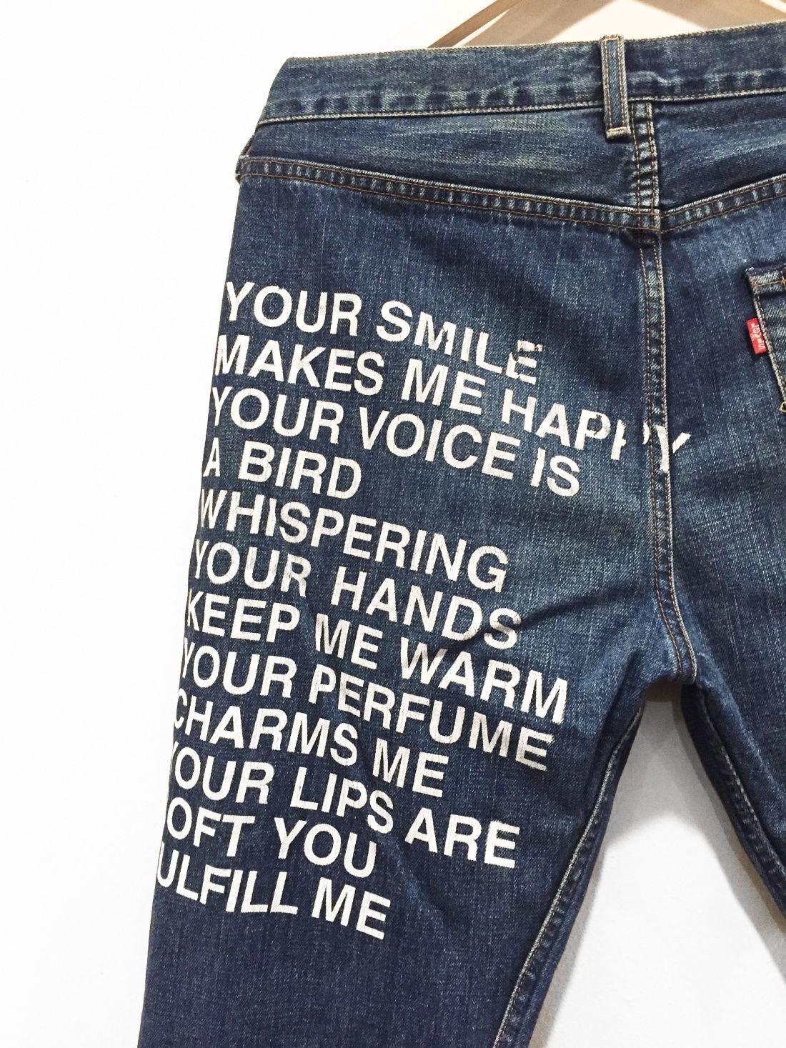 7e1a25f61e Vintage 2001 Poem Jeans | DENIM JACKET INSPIRATION...PINS AND ...