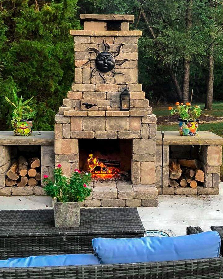 Fremont fireplace kit diy outdoor fireplace fireplace