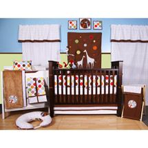 Walmart Bacati Baby Me 10pc Nursery In A Bag Crib Bedding Set With Images Baby Crib Sets Crib Bedding Sets