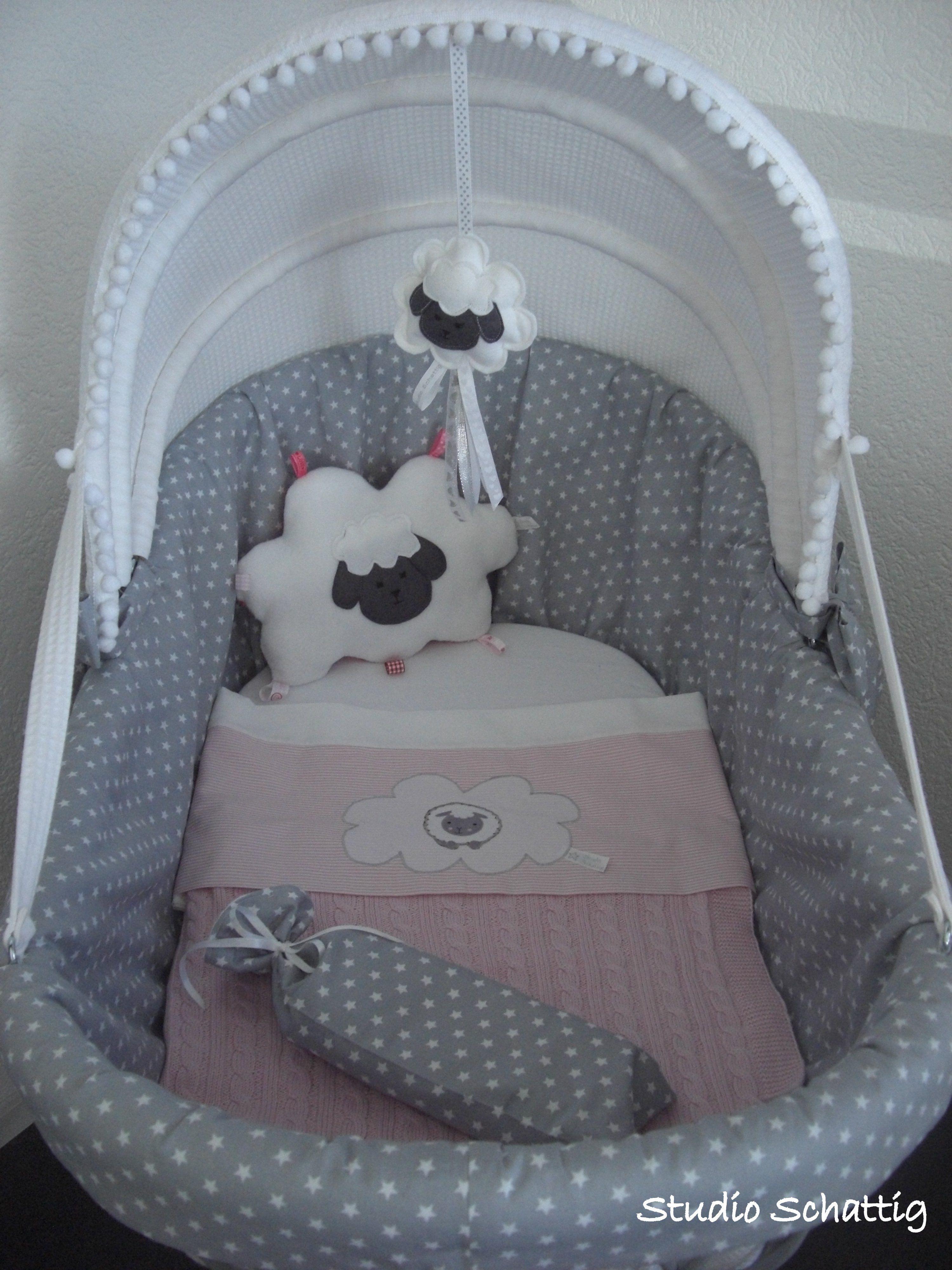 Wooden crib for sale in cebu - Sweet Crib Schaapjes Style