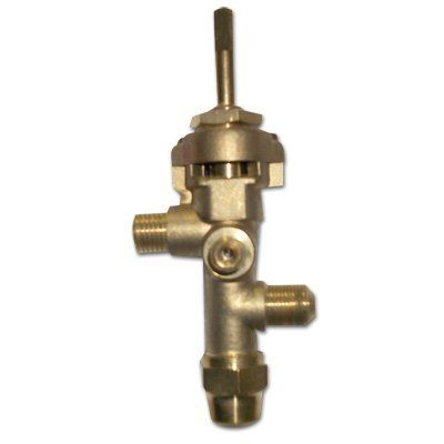 patio heater control valve