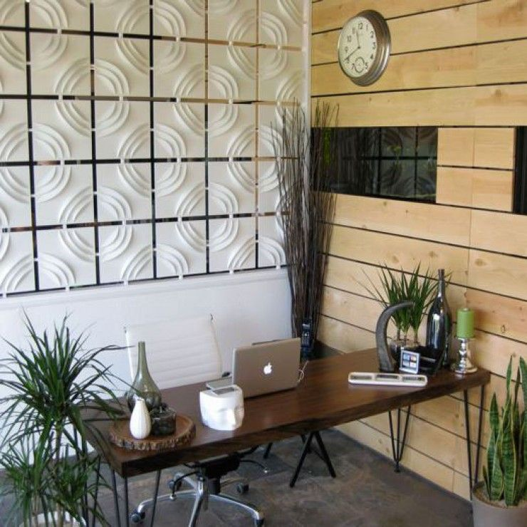 Ripple Wall Tiles In Chiropractic Office Design Ideas