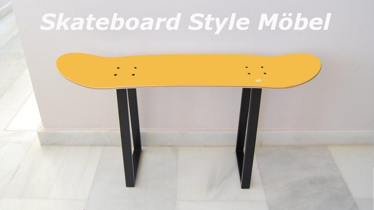 Originelles Geschenk für Freund Skateboarder Skateboard Style Möbel ...