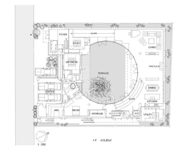 F Residence by Edward Suzuki Architecture