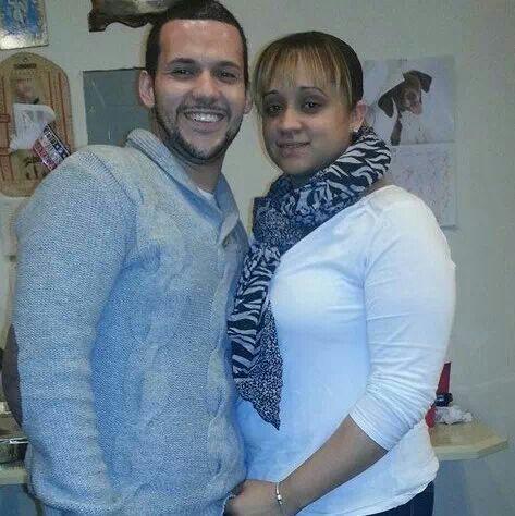 Power couple, Anthony and Melisa.