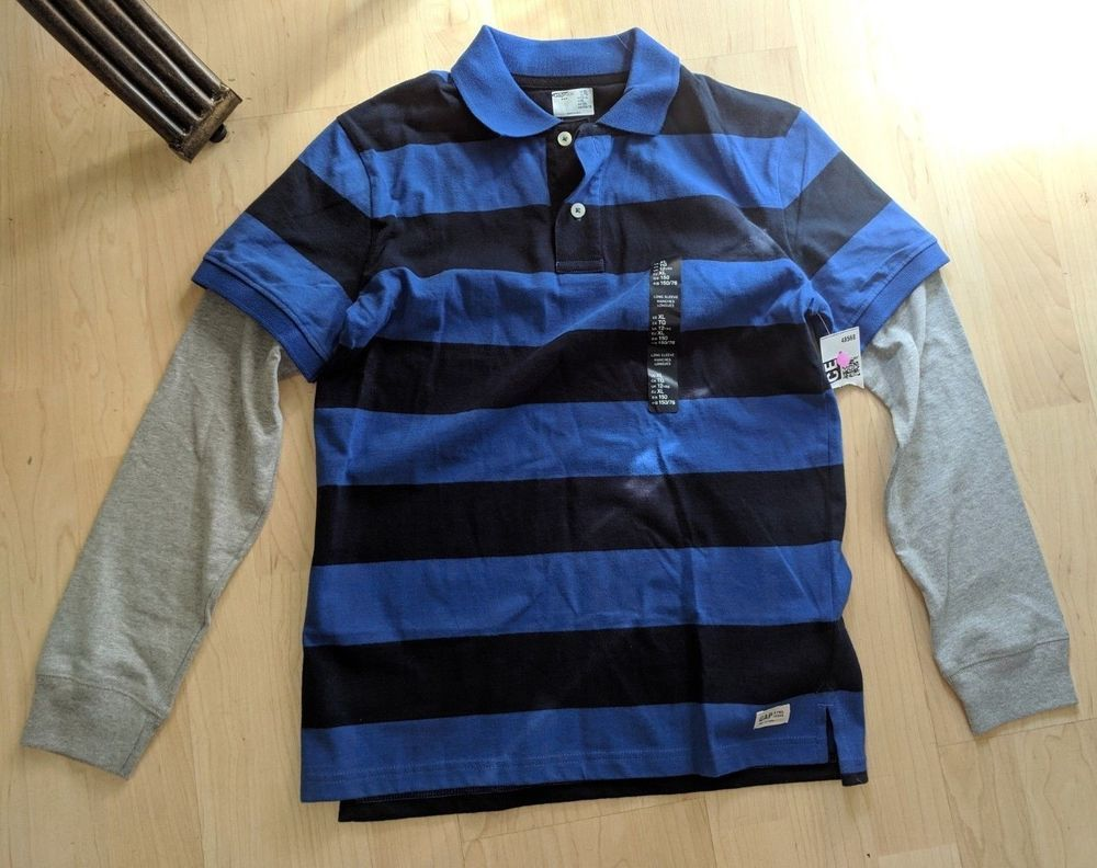 e4e07ad7d947a Boys Gap Kids Long Sleeve Striped Shirt Size XL  fashion  clothing  shoes   accessories  kidsclothingshoesaccs  boysclothingsizes4up (ebay link)