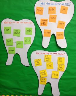 Apples And ABCs Dental Health Month