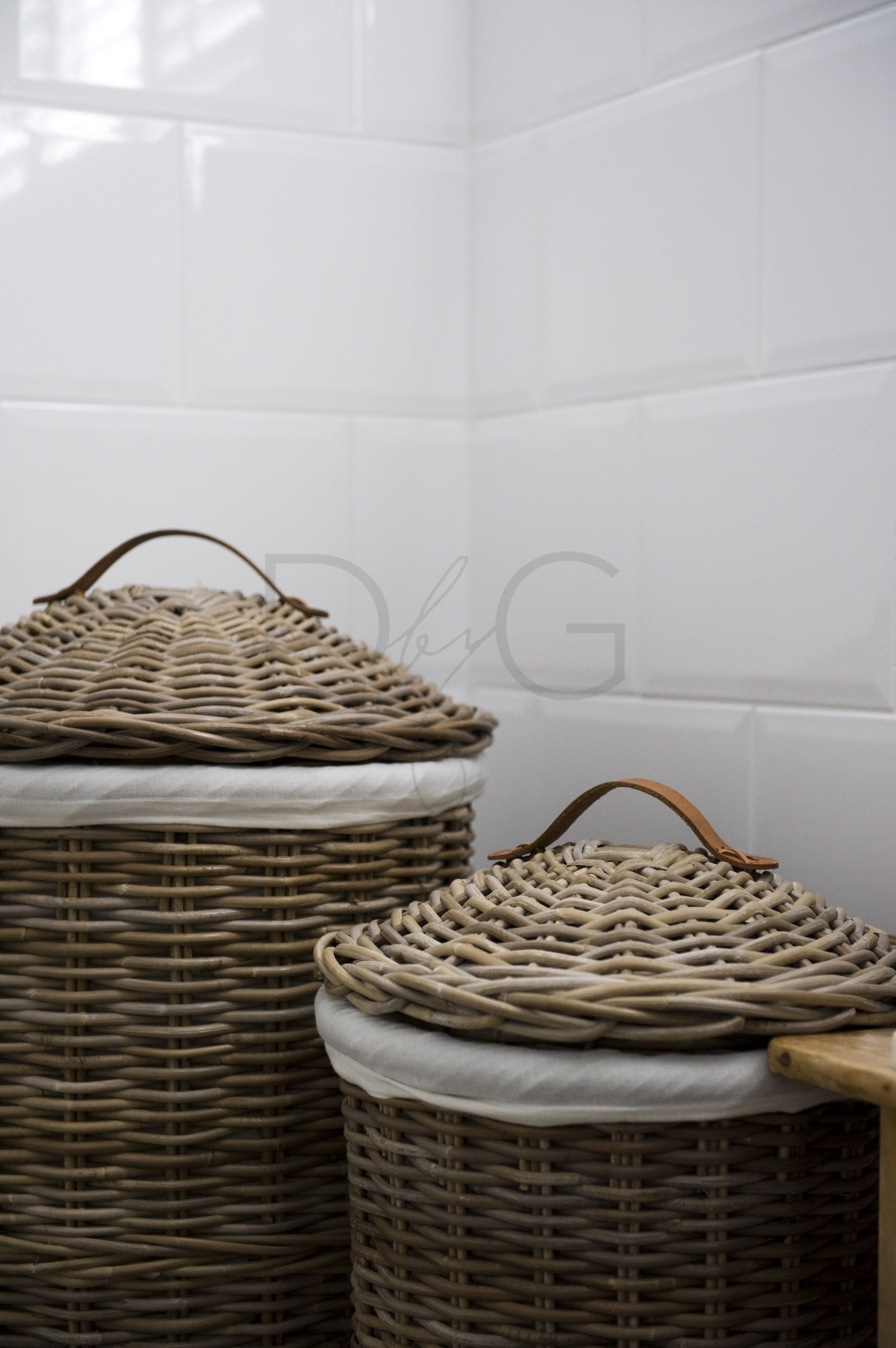 I Like The Idea Of Clean White 4x4 Or Subway Tile And Ceramics Then Walls Can Be Painted Any Color And A Vareity Of Closures Can Storage Baskets Decor Basket