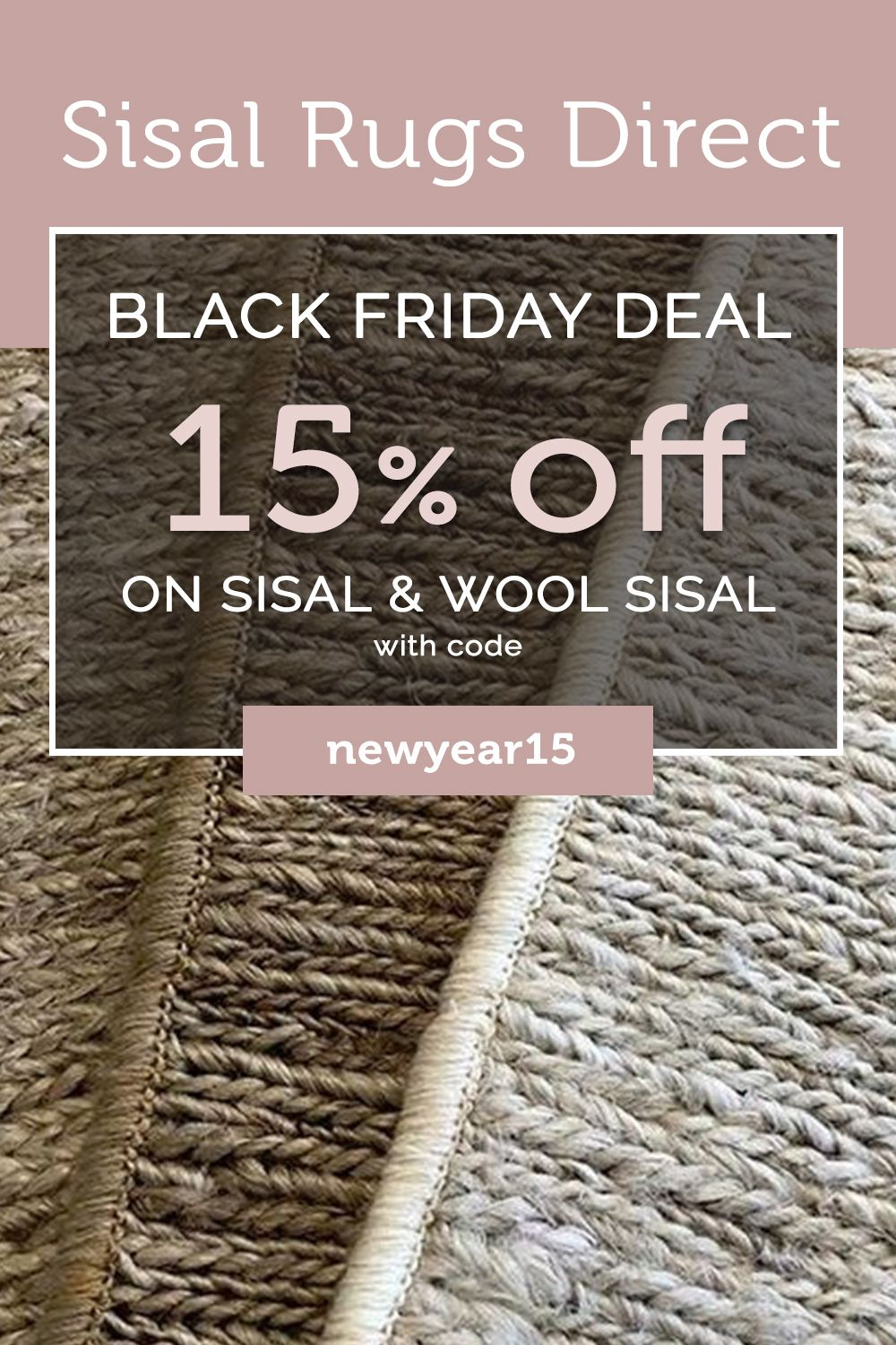 New Year, New Sale! in 2020 Wool sisal, Natural fiber