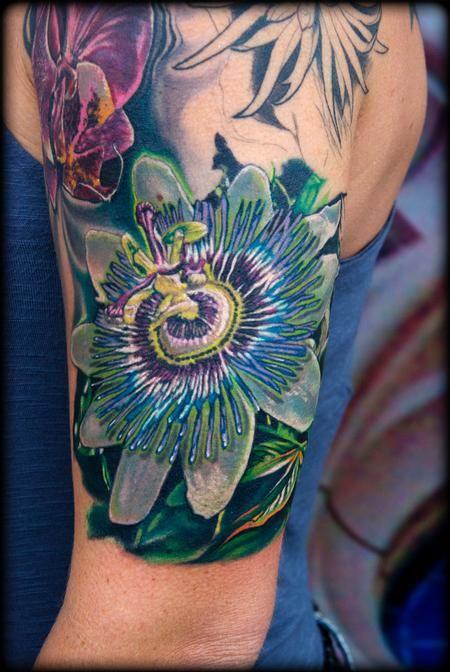 Forbidden Images Tattoo Art Studio Tattoos Litos Orquidia Tattoos Flower Tattoo Designs Body Art Tattoos