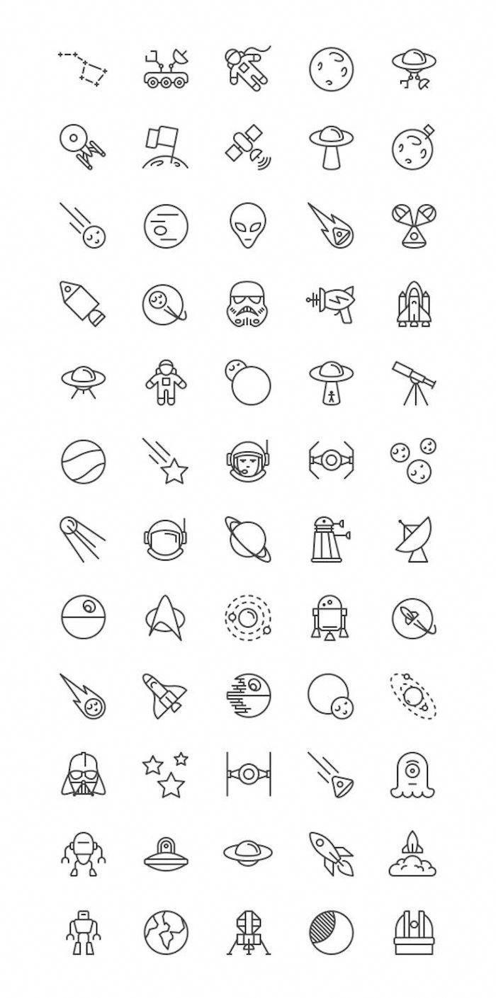 ▷ 1001 + Ideen zum Thema Star Wars Tattoo und seine Bedeutung #whiteallstars