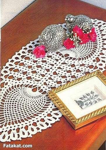 مجموعة مفارش كروشية روعة بالباترون تشكيلة مفارشي كروشيه بالباترون مفارش كروشي Crochet Doily Patterns Crochet Doilies Crochet Dollies