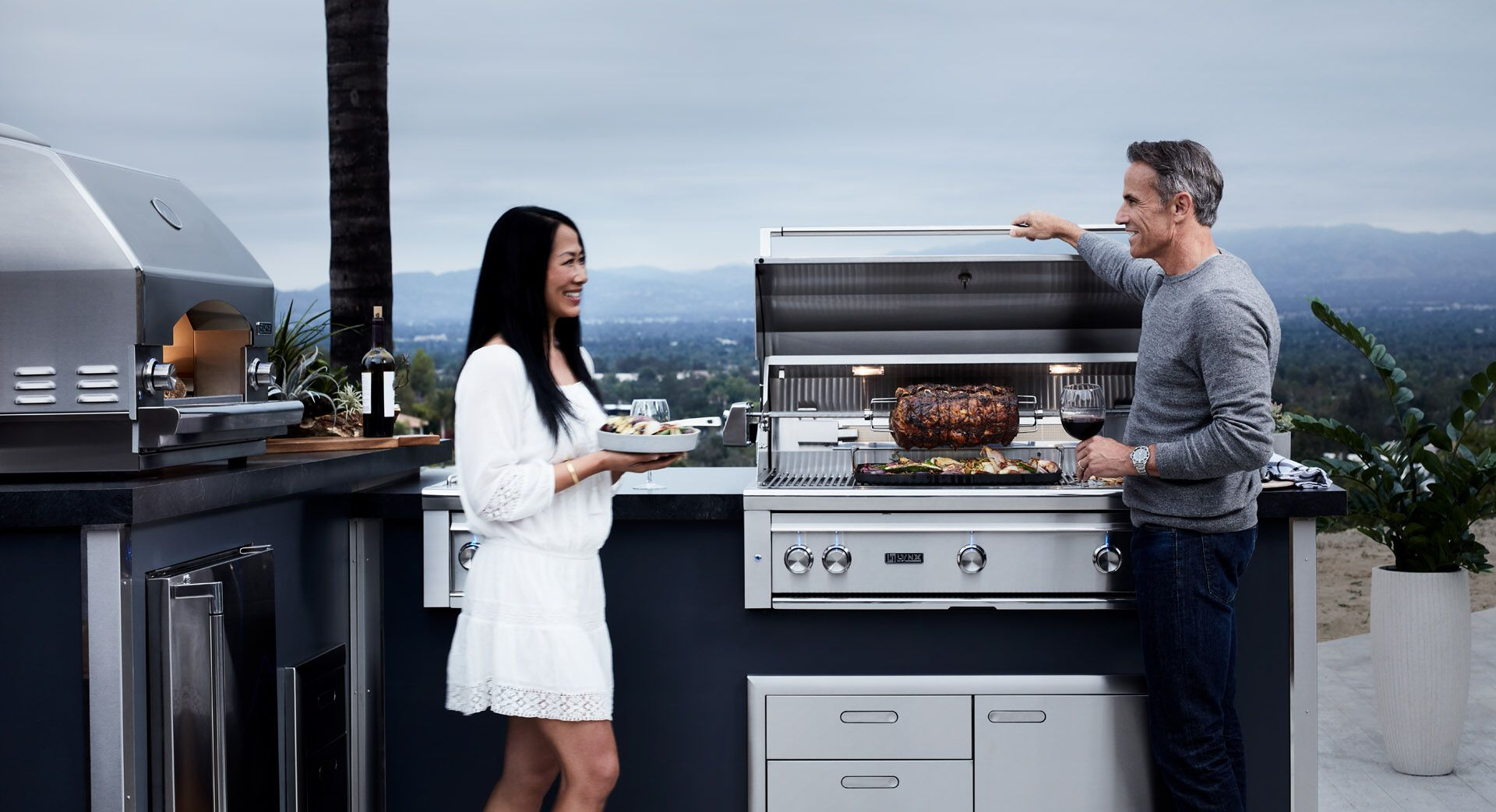 Ask Us About The Lynx Professional Lineup Outdoorentertainment Outdoorgrills Outdoorkitchens Outdoorliving Outdoor Kitchen Outdoor Appliances Patio Style