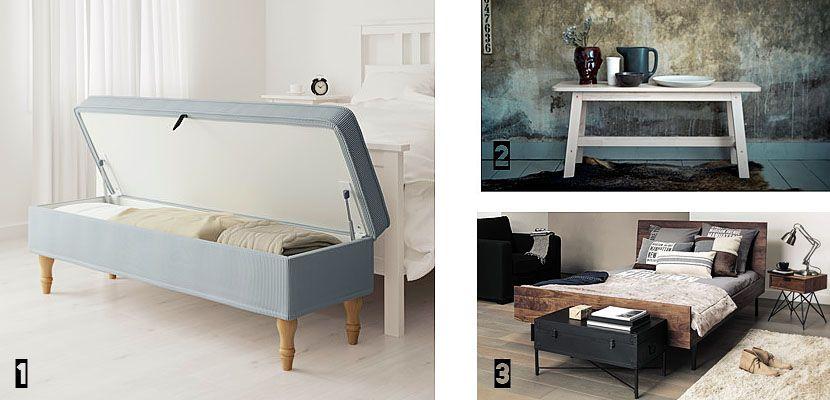 10 muebles de pie de cama para el dormitorio + IDEAS increíbles ...