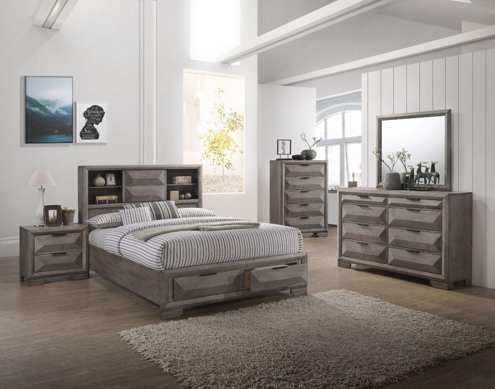Contemporary Cartier Queen Bedroom Set