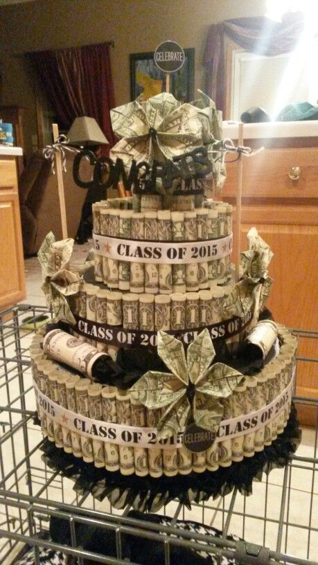Graduation Money Cake Graduation Money Cake Grad