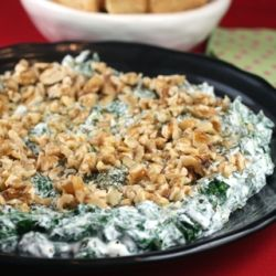 Not your usual spinach dip. This one is made with Greek yogurt and dried mint. From the folks at Food52.