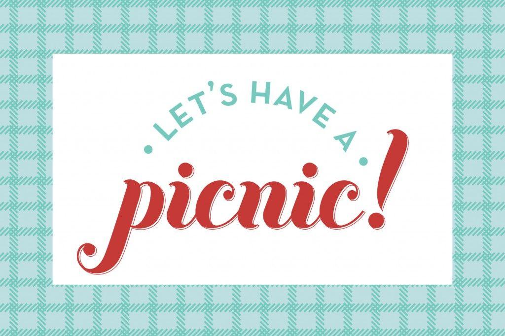 Picnic Invite Free Printable  Diy    Picnics Free