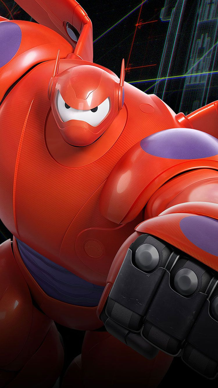 Baymax-Robot-iPhone-6-Wallpaper from designbolts.com