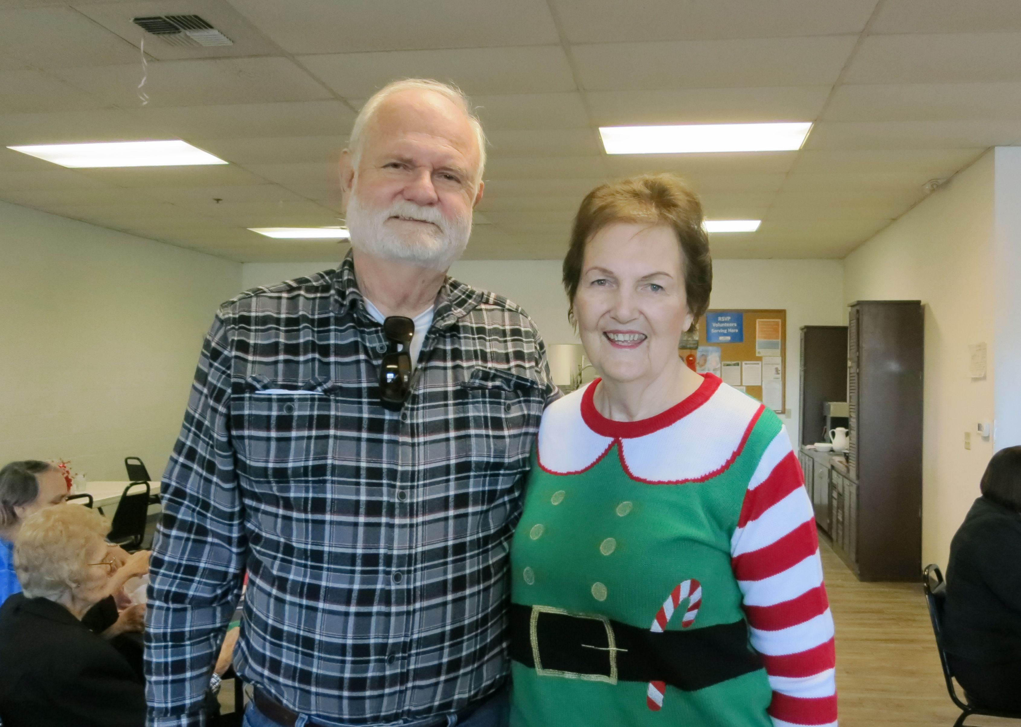 Senior Christmas Party Ideas Part - 33: Lyle And LaVerne VanNorman Of Redding Attend The Frontier Senior Center Christmas  Party On Dec. 22 At The Center In Anderson. Go To Www.redding.com To See ...
