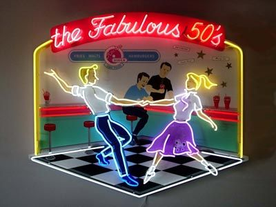 The Fabulous 50s and they were just that Fab Fifties