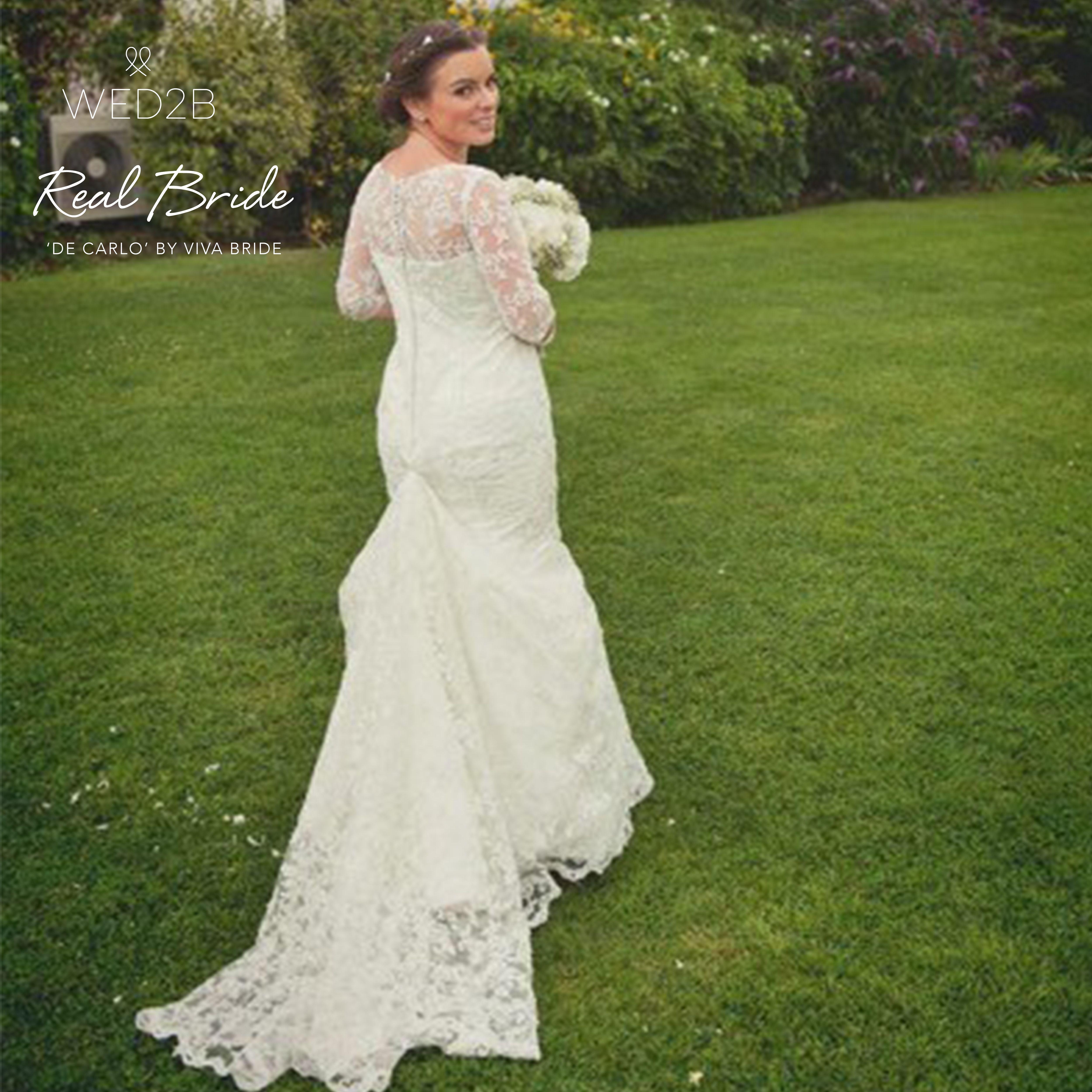 Real Brides Wed2b: Pin On Real Brides In Viva Bride