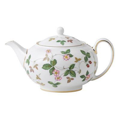 Wedgwood Wild Strawberry 0.7-qt.Teapot