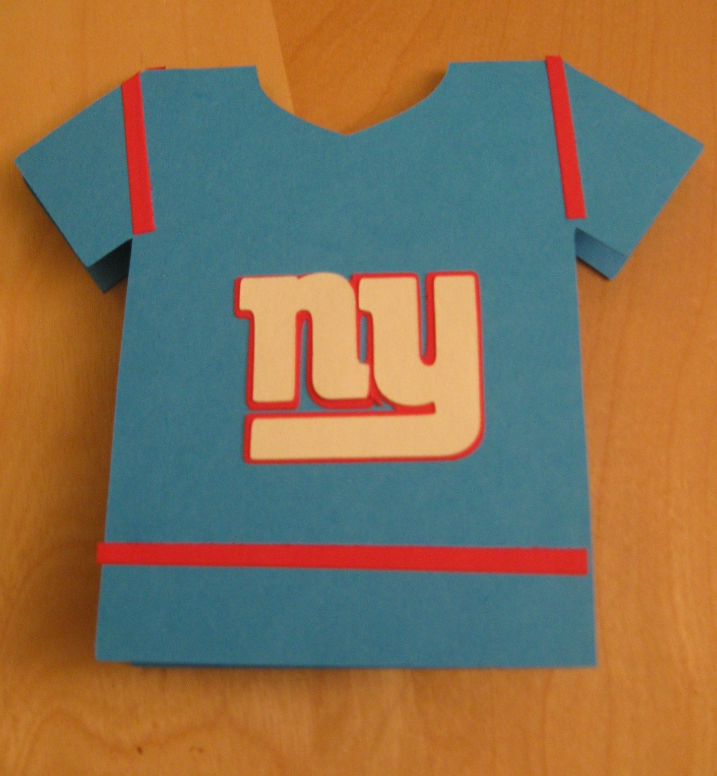 Ny Giants Birthday Card My Scrapbooking And Card Creations 2013 15