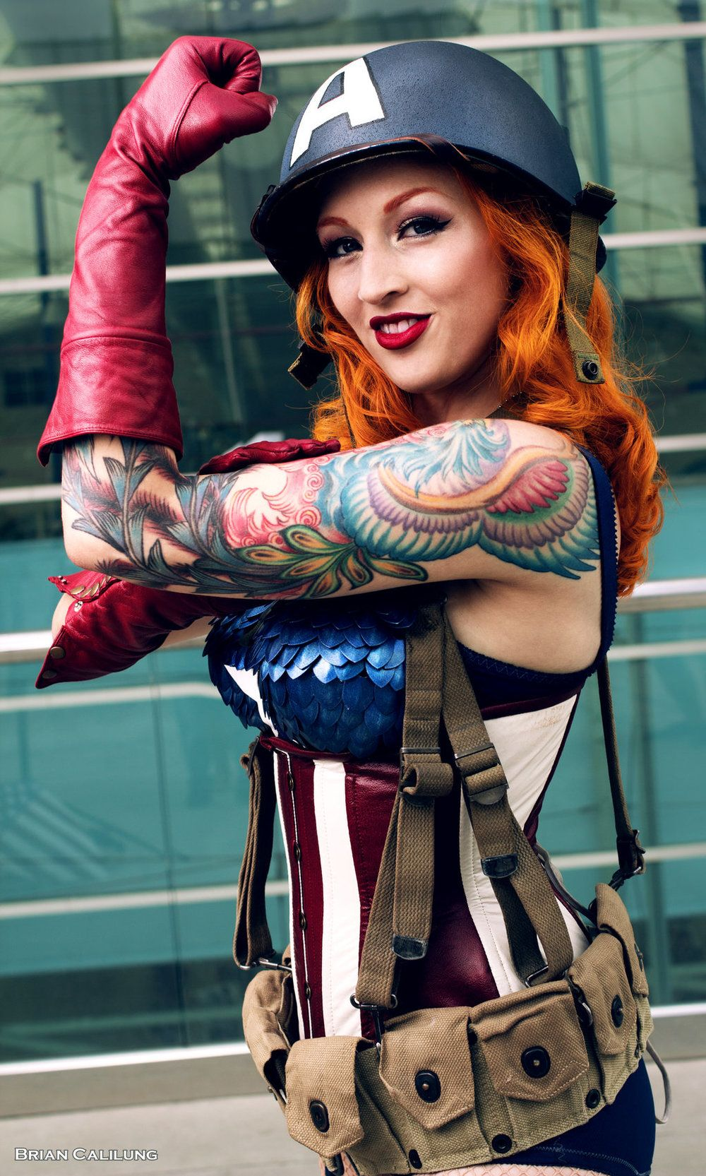 Captain America (Female) Best of Cosplay Collection